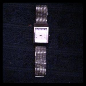 Authentic Burberry Silver Women's watch